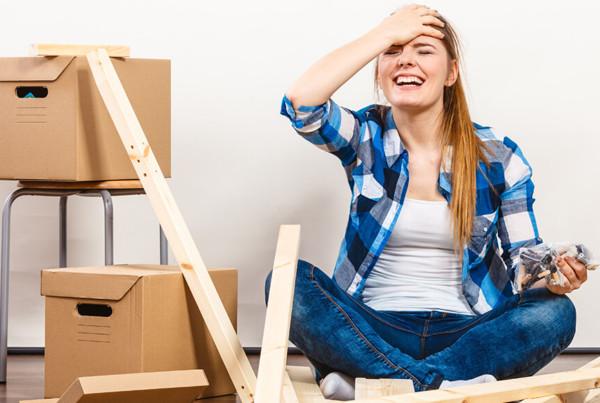 Démonter et remonter les meubles