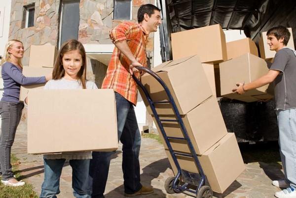 Faire participer la famille au déménagement