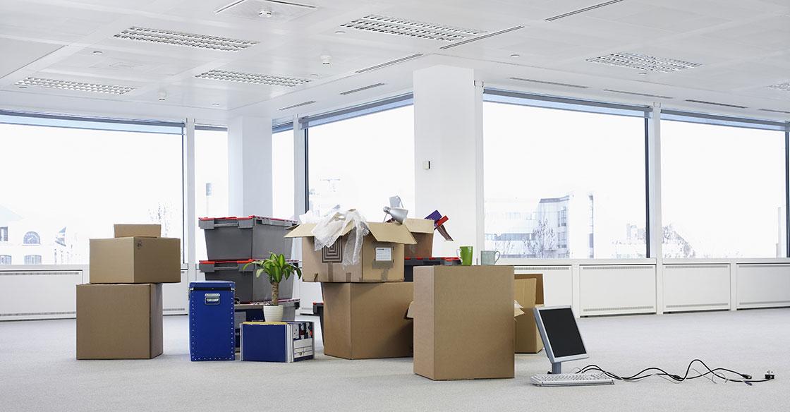 déménagement de locaux professionnels