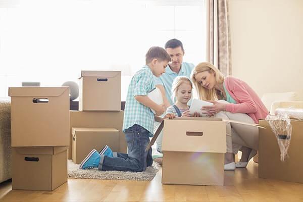 Déménagement complet, déménagement de particuliers