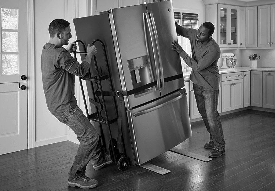 Préparer le déménagement et le transport d'un frigo